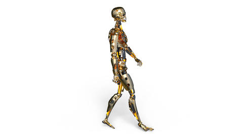 Robot walk Animation
