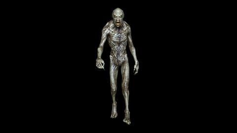 Alien Walk Animation