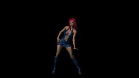 NR180 Mocap Dancer Animation
