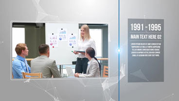 Modern Coporate Timeline After Effects Template