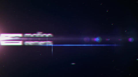 4k Space Glitch Logo Reveal After Effectsテンプレート