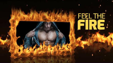 Fire Frame After Effects Template
