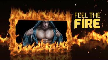 Fire Frame Plantilla de After Effects