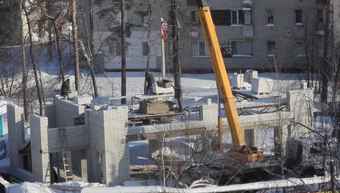 10 crane construction sky Footage
