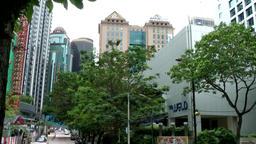 Malaysia Kuala Lumpur 012 interesting skyscrapers Footage