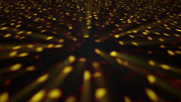 Abstract background with disco floor. Technology colorful backdrop Photo