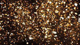 Abstract bokeh background. Gold backdrop. 3D rendered フォト