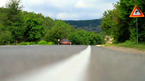 Movement of vehicles on the road Stock Video Footage