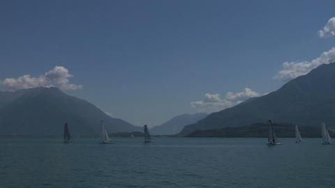 catamaran 04 Stock Video Footage