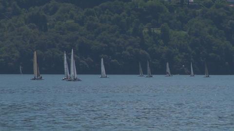 catamaran 08 Stock Video Footage