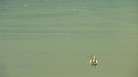 Geneva Lake a Stock Video Footage