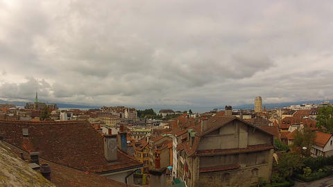 Lausanne 1 Stock Video Footage