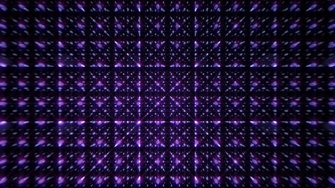 LED Light Space Grid