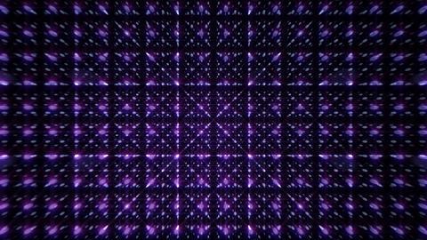 LED Light Space Grid