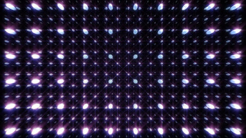 LED Light Space G 5s A HD Stock Video Footage