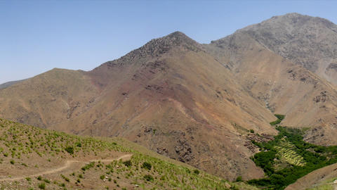 pan High Atlas Morroco 04 Stock Video Footage
