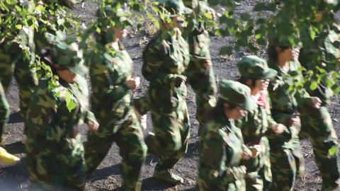 Military Training Of Chinese Students 0