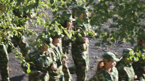 Military Training Of Chinese Students 1