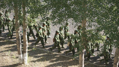 Military Training Of Chinese Students 2