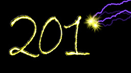 2013 New Year Stock Video Footage