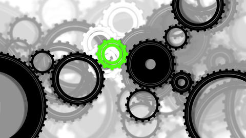 Gears background Stock Video Footage