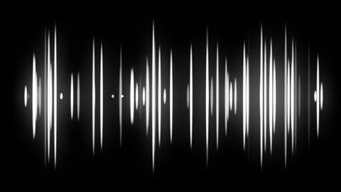 Red Audio Spectrum Animation