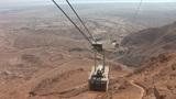 cableway on Mount Masada 1 Footage