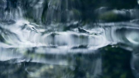 reflection on water,Mirage & psychedelic Stock Video Footage
