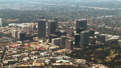 Aerial, West Los Angeles, California Stock Video Footage