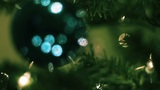 Christmas Tree Ornaments 01 stock footage