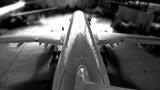 airplane hangar start Footage
