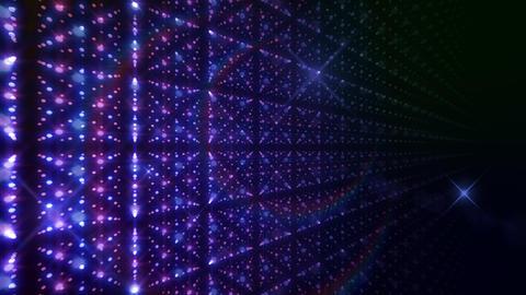LED Light Space G 5p B 2f HD Stock Video Footage