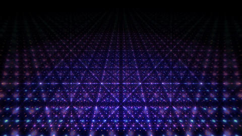 LED Light Space G 5q B 2 HD Stock Video Footage