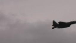 F-15 Eagle flypast with afterburner Red Flag Alaska Footage