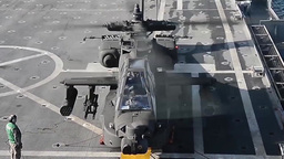 AH-64D Apache Helicopters Training Mission Footage
