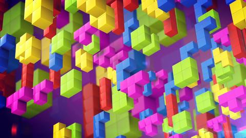 Tetris game Animation