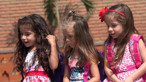 Female Children Or Little Girls Live Action