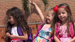 Children Adorable Girls Live Action