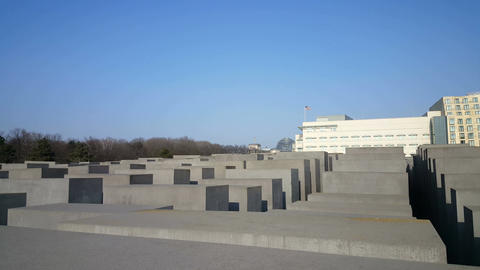 Memorial to the Murdered Jews of Europe, Berlin Footage