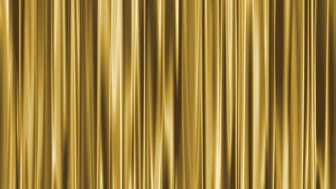 Gold Curtain Loop Animation