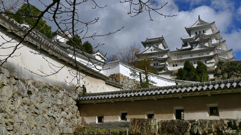 Architecture Japanese Landmark Asian Monument Himeji Castle In Japan Asia