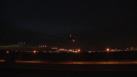 Aeroplane at Kuala Lumpur International Airport Footage