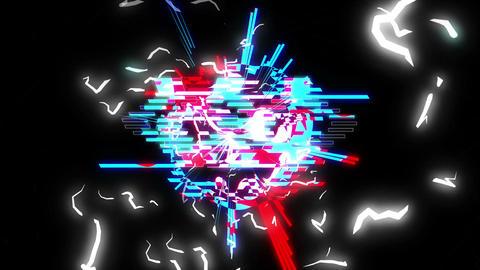 Vj Glitch 04 Animation