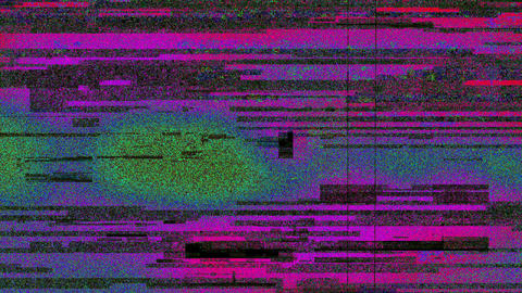 Colored Noise Grunge Grain Distorted Trendy Digital Abstract Background Animation