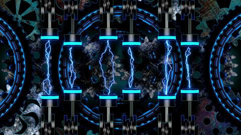 Techno Heart 02 Vj Loop Animation