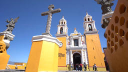 Our Lady of Remedies Church (Iglesia de Nuestra Senora de los Remedios) Footage