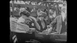 4K Turn of the Century: French Actress Sarah Bernhardt Footage