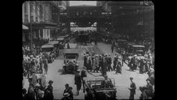 Turn of the Century 1890s - 1900s Chicago | Lasalle Street Footage