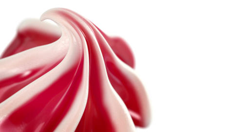Ice Cream slowly rotating 360 degrees Animation