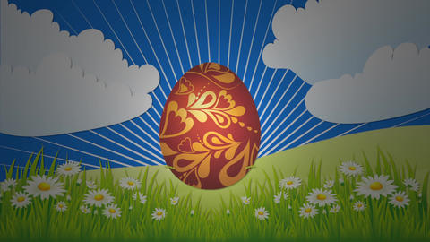 Happy Easter: intro animation Animation